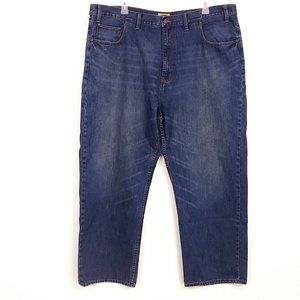 Foundry Mens Straight Leg Jeans Faded Z05
